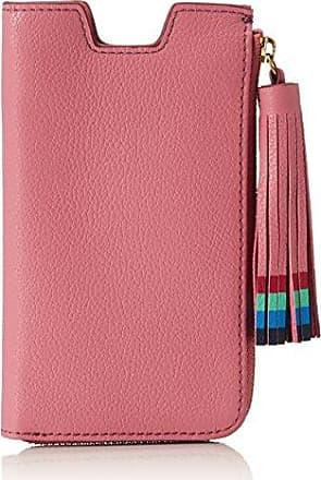 Handybrieftasche, Womens Wallet, Pink, 3.81x9.2200000000000006x8.59 cm (B x H T) Fossil