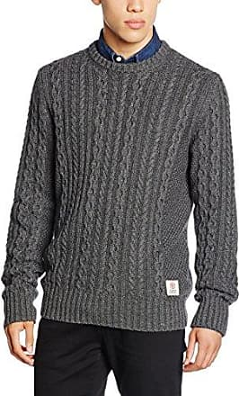 Garment Dye L.a. Textured Crew, Sudadera Deportiva para Hombre, Gris (Washed Carbon Grey PD5), XS Superdry