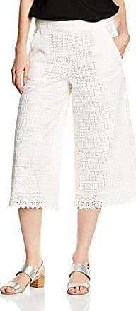 French Connection Holiday Lace Flared TRSRPantalon Femme, (Summer White 10)L (Taille Fabricant: -16-)