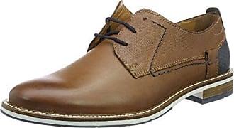 Fretz Men Oskar, Zapatos de Cordones Derby para Hombre, Azul (Blue 32), 48 2/3 EU