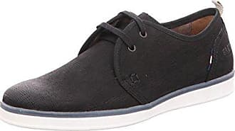 9410.0662, Chaussures Derby Homme - Noir - Noir (Noir 51), 46 EUFretz Men