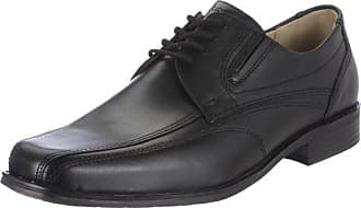 FRETZ men Fred - Business de cuero hombre, color negro, talla 44 2/3