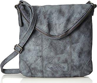 Dina, Womens Shoulder Bag, Schwarz (Black), 3x28x28 cm (B x H T) Fritzi Aus Preu?en