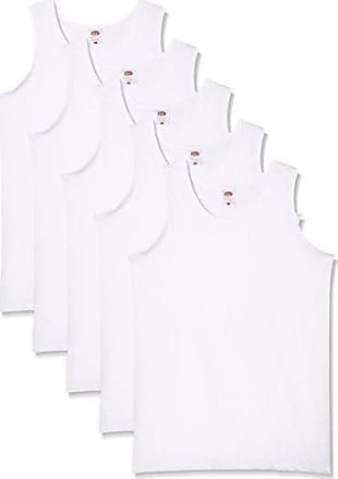 Fruit of the Loom Camiseta de Tirantes para Hombre (Pack de 5) hSLon14