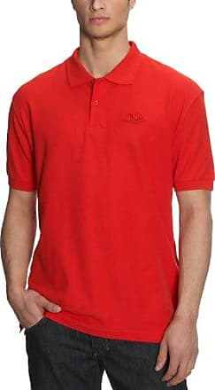 Fruit of the Loom Premium, Polo Homme, Rot (Red 40), Medium