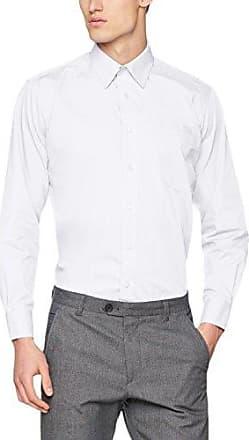 Poplin Short Sleeve, Chemise Homme, Blanc (White), XX-LargeFruit Of The Loom