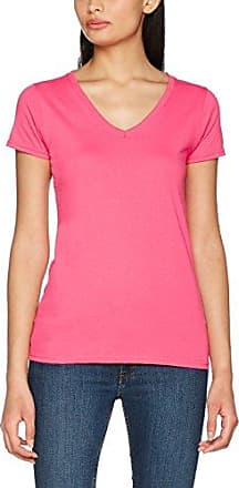 Guess SS Vn Studs Logo tee, Camiseta para Mujer, Rosa (Candy Apple Pink A469), S