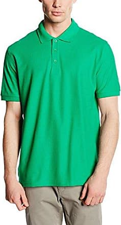 Fruit of the Loom SS033M, Polo Homme, Vert-Vert Kelly, X-Large