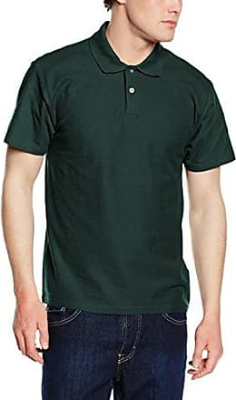 Fruit of the Loom SS033M, Polo Homme, Vert-Green (Emerald), Xx-Large