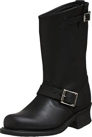 Jane 14L Stitch - Botas tacón, talla: 37, Color Negro Frye