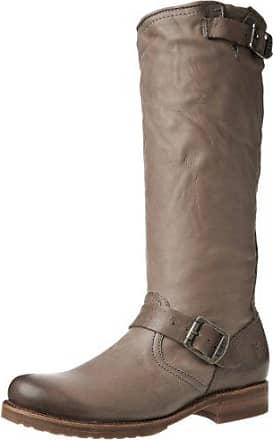 Frye , Damen Veronice Slouch, Grey Soft Vintage Leather-76602, 40.5 EU