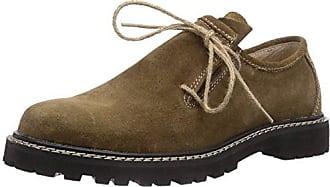 Wolpertinger W07015-1 - Zapatos tradicionales bávaros unisex, color negro, talla 42