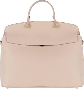 Mughetto L Top Handle Onyx/Petalo Satchel Bag weiß Furla JjGrt6Gqqe