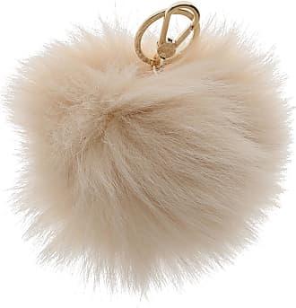 Key Chain for Women, Key Ring On Sale, Purple, Fur, 2017, Universal Size Furla