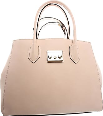 Tote Bag On Sale, Rose, Leather, 2017, one size Furla