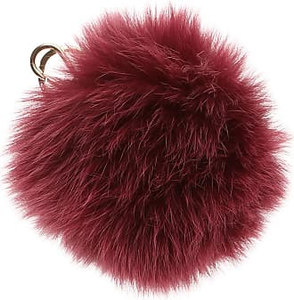 Furla Key Chain for Women, Key Ring On Sale, Natural, Fur, 2017, Universal Size