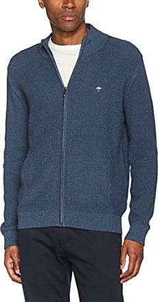 Fynch-Hatton Cardigan-Button, Gilet Homme, (Marina 686), Medium