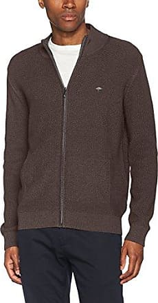 Zip, Gilets/Cardigans Homme, Gris (Charcoal), MediumFynch-Hatton