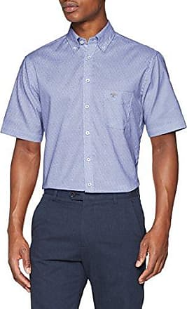 Solid Summer Structure, B.D, 1/2, Chemise Casual Homme, Weiß (White 5001), SmallFynch-Hatton