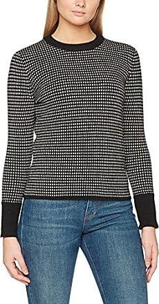 G-Star Fogela R Knit Wmn L/s, Suéter para Mujer, Multicolor (Asfalt/Dk Black 7272), Large