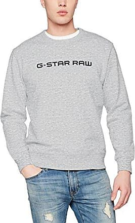 Loaq R Sw L/s, Sweat-Shirt Homme, Blanc (White Htr 129), XX-LargeG-Star