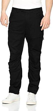 Negro 990 Cuffed Black Rovic para W33 Tapered DC Pantalones Hombre x8HHqSYUw