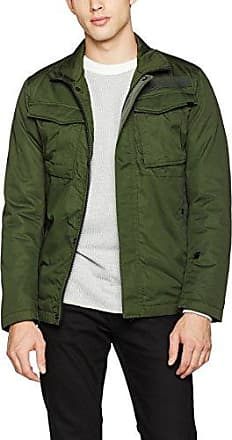 Vodan Worker Overshirt L/s, Chaqueta para Hombre, Multicolor (Raw/Lt Aged Olive Ao 8214), Large G-Star