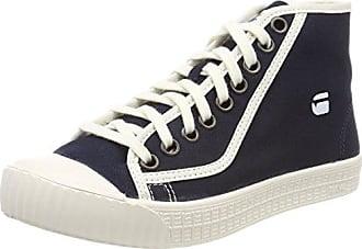 G-STAR RAW Rovulc Mid WMN, Sneakers Basses Femme, Blanc (White 110), 38 EU