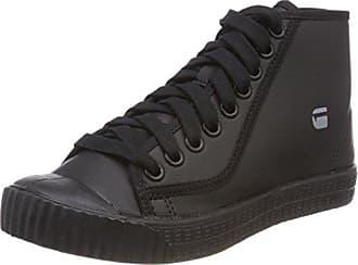 G-STAR RAW Deline, Baskets Femme, Noir (Black 990), 39 EU