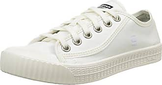G-Star WOLKER Hi, Damen Hohe Sneakers, Weiß (Bright White), 40 EU (7 Damen UK) G-Star