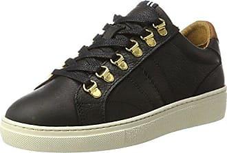 1641 102701 - Zapatillas Altas de Piel Mujer, Color Negro, Talla 40 EU Gaastra