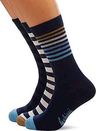 Mens Agab55 Socks, Multicoloured, One Size (Manufacturer Size:7-11) pack of 3 Gabicci Vintage 1973