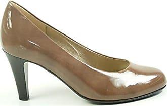 Damen Pumps Sommer Schuhe in Glattlederoptik Khaki 40 Jumex becob