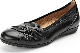 Ballerina pumps in 100% leather Gabor black Gabor TbNvG1CZ