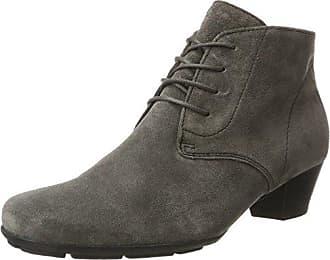 Gabor Shoes Gabor Basic, Bottes Femme, Gris (69 Dark-Grey Micro), 40 EU