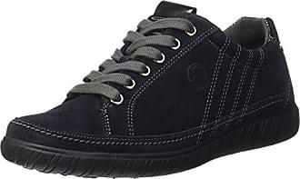 Comfort Basic, Zapatos de Cordones Derby para Mujer, Azul (Nightblue Micro), 37.5 EU Gabor