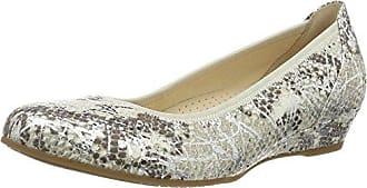 Gabor Shoes Comfort, Ballerines Femme, Gris (Argento 20), 37.5 EU