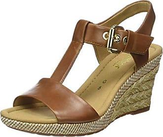 Gabor Shoes Comfort, Sandales à Talons Femme, Marron (Walnut A.Obl), 41 EU