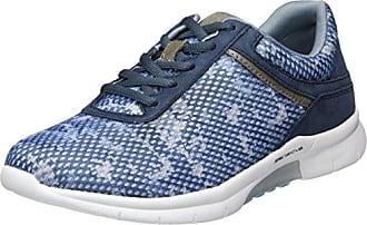 Shoes Damen Comfort Sport Geschlossene Ballerinas, Blau (Bluette.Multi), 38 EU Gabor