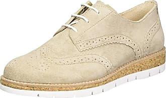 Gabor Shoes Comfort, Sneakers Basses Femme, Beige (Argent/Silk/Mutaro 41), 38 EU