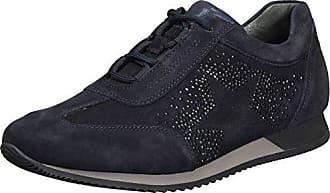 Comfort Basic, Zapatos de Cordones Derby para Mujer, Azul (Pazifik K. Micro), 38.5 EU Gabor