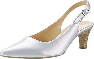 Fashion, Sandales Bout Ouvert Femme, Blanc (Ice/Rame/Nude 11), 39 EUGabor
