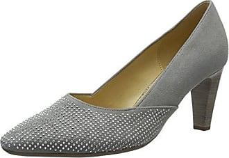 Gabor Shoes Damen Fashion Pumps, Grau (Stone 73), 37 EU