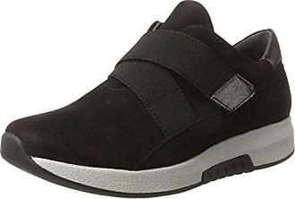 Gabor Shoes Rollingsoft, Derbys Femme, Noir (Schwarz (Strass) 87), 43 EU
