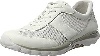 Gabor Shoes Rollingsoft, Derbys Femme, (Weiss), 37 EU