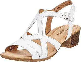 Gabor Shoes Comfort Sport, Sandales Bride Cheville Femme, Multicolore (Puderjute/Nieten), 37 EU