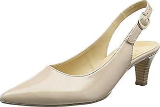 Gabor Shoes 41.550 Damen Slingback Pumps,Grau (72 Sand),38 EU