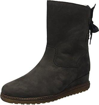 Gabor Shoes Damen Basic Stiefel, Grau (19 Anthrazit), 41 EU