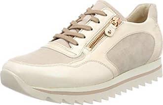 Gabor Sport, Zapatos de Cordones Derby para Mujer, Gris (Grau Kombi/Weiss), 37.5 EU Gabor