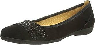 Gabor Shoes Basic, Damen Geschlossene Ballerinas, Schwarz (schwarz 37), 41 EU (7.5 Damen UK)
